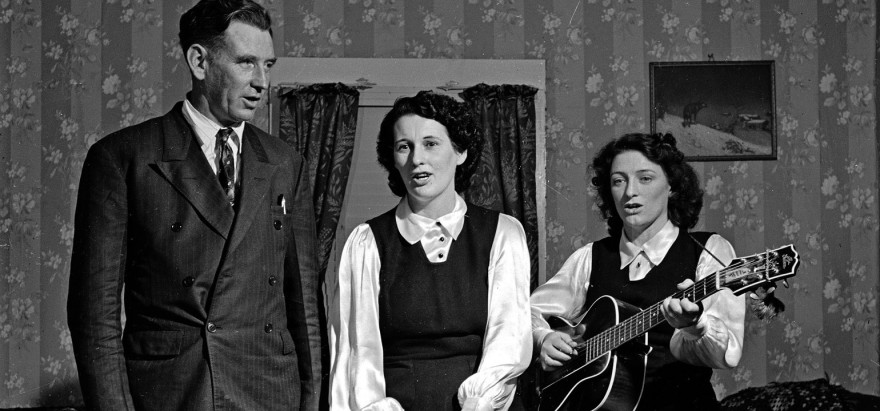 A.P. Carter, Sara Carter, and Maybelle Carter