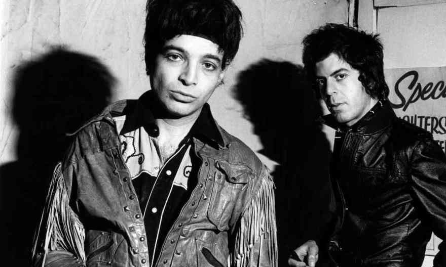 Desire to provoke … Suicide's Alan Vega, left, and Martin Rev in 1980. Photograph: Ebet Roberts/Redferns