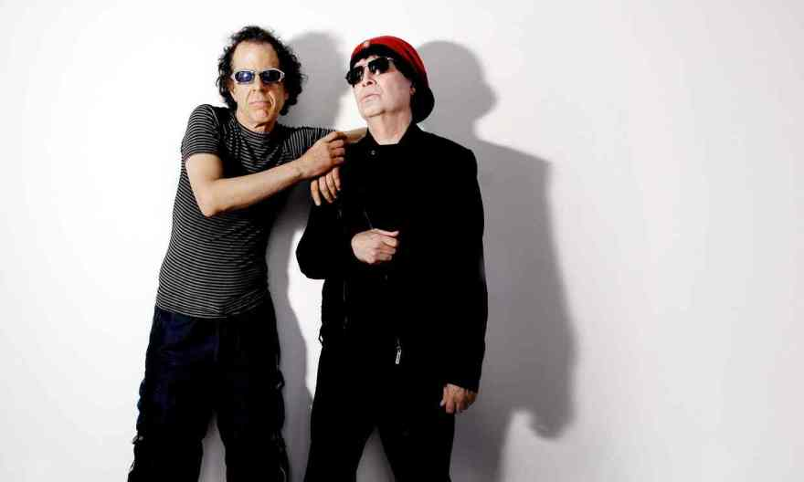 Dreamers … Suicide's Martin Rev and Alan Vega in 2007. Photograph: Sarah Lee for the Guardian