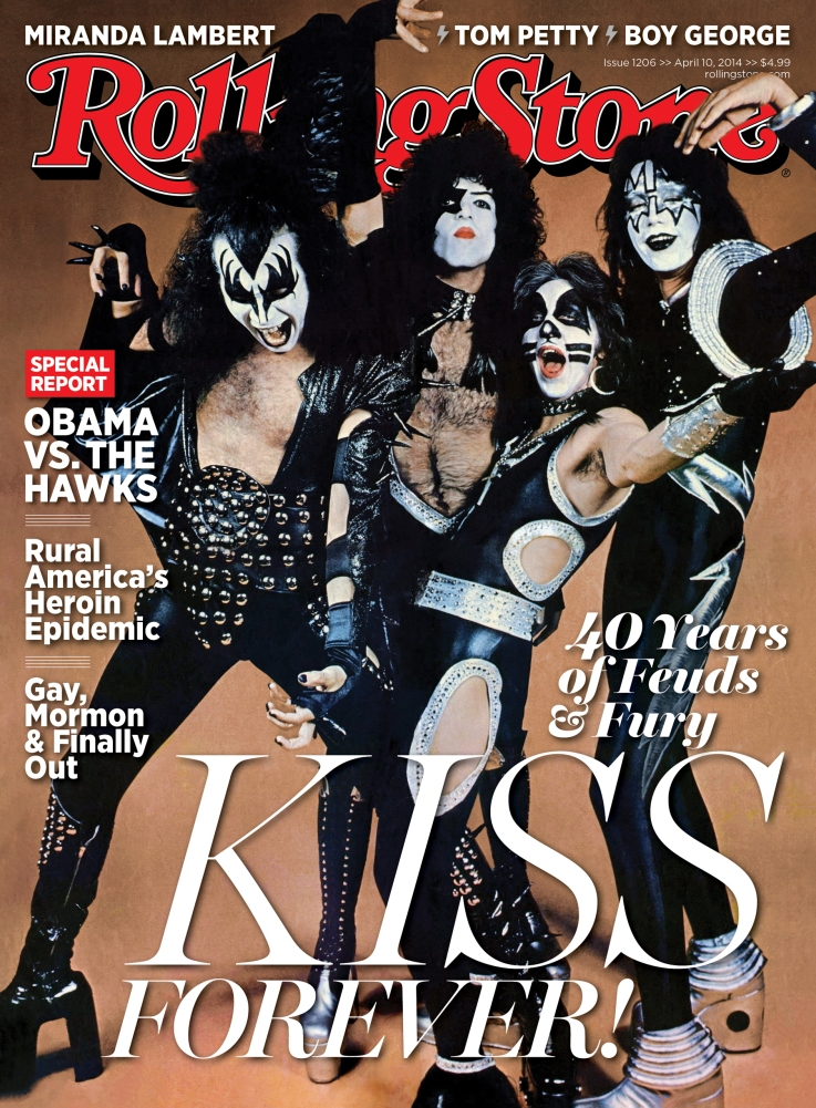 KISS Rolling Stone Cover Story