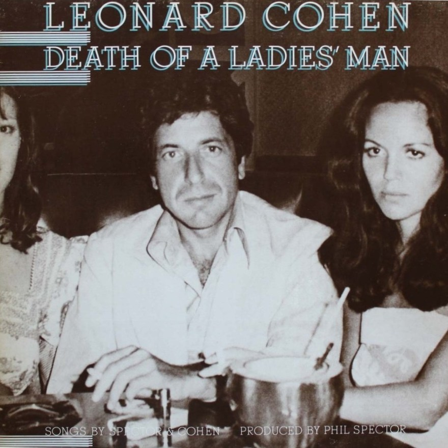 Leonard Cohen Death of a Ladies Man Columbia 1977