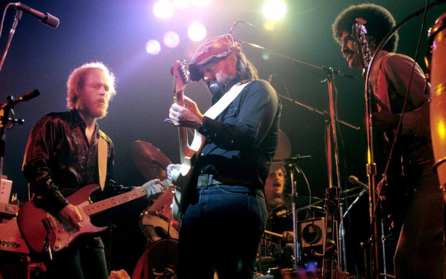 Little Feat perform live on stage at the Beacon Theatre in New York on April 7, 1978