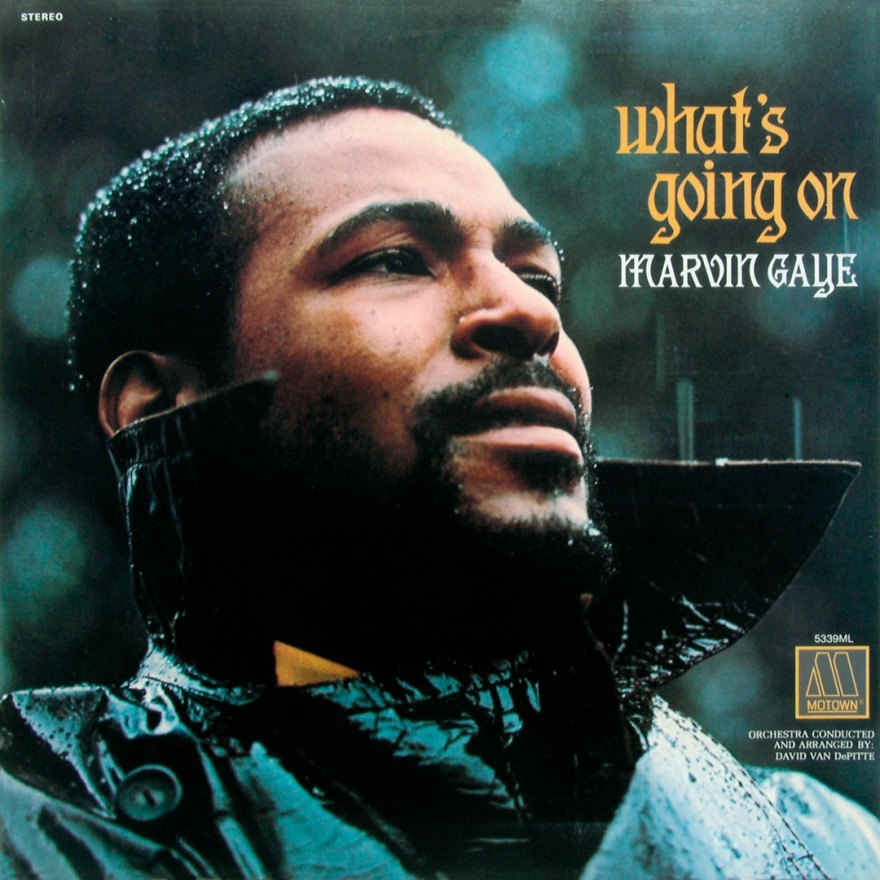 "Marvin Gaye ""What's Going On"" Tamla (T 54201) - January 20, 1971"