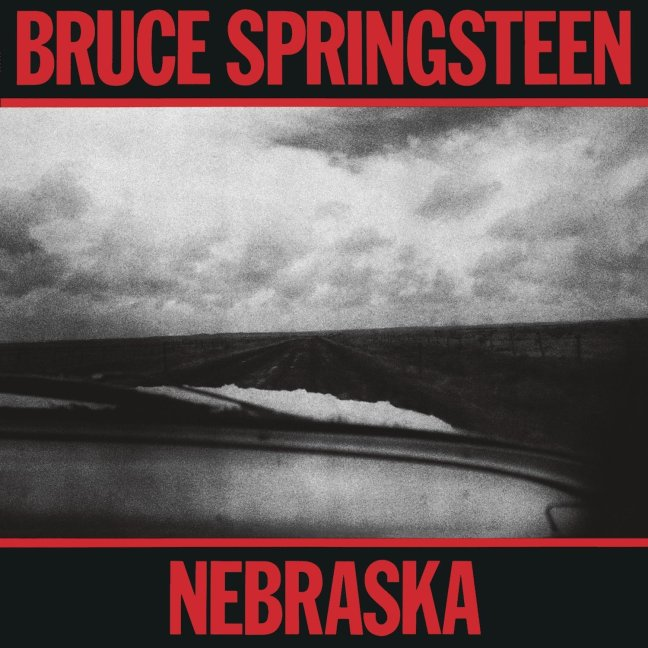 "Bruce Springsteen ""Nebraska"" 1982 Columbia"