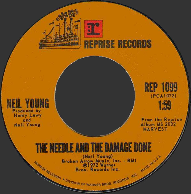 """The Needle and the Damage Done"" by Neil Young"