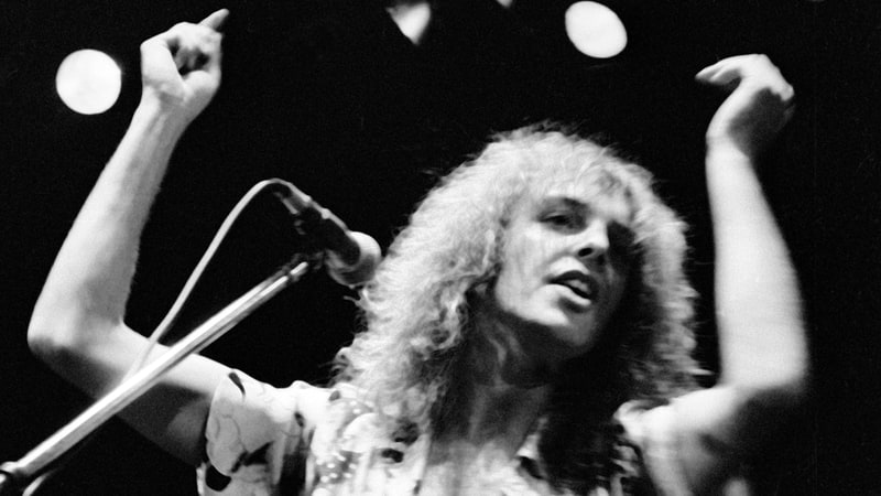 Peter Frampton In Concert At The Los Angeles Forum on December 7th, 1976