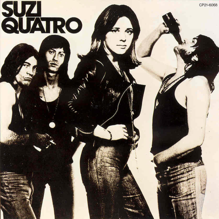 Suzi Quatro On Pinterest The Wild Joan Jett And Shoe