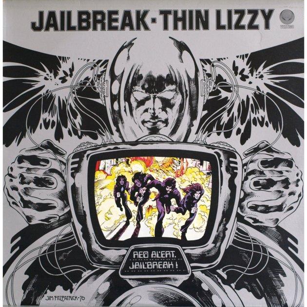 Jailbreak by Thin Lizzy 1976 Vertigo UK / Mercury Records USA