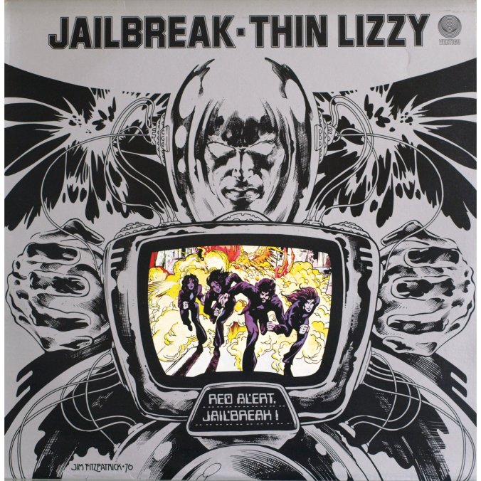 Jailbreak by Thin Lizzy 1976 Vertigo UK / Mercury Records USA