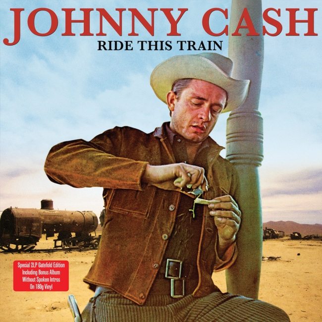 """""""Ride This Train"""" by Johnny Cash 1960 Columbia"""