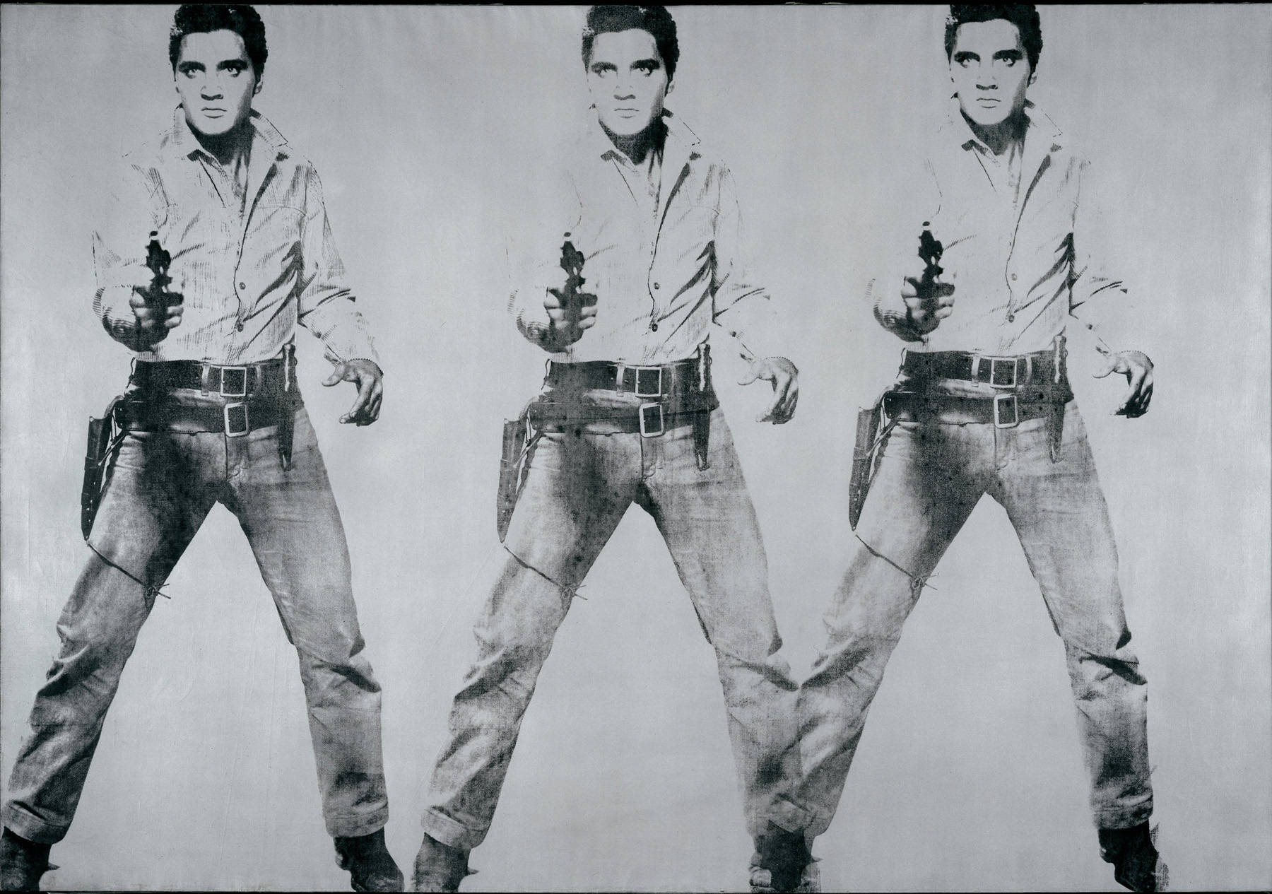 Image result for ELVIS AND GUN