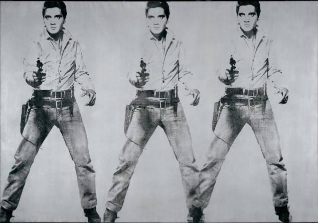 Elvis Presley by Andy Warhol