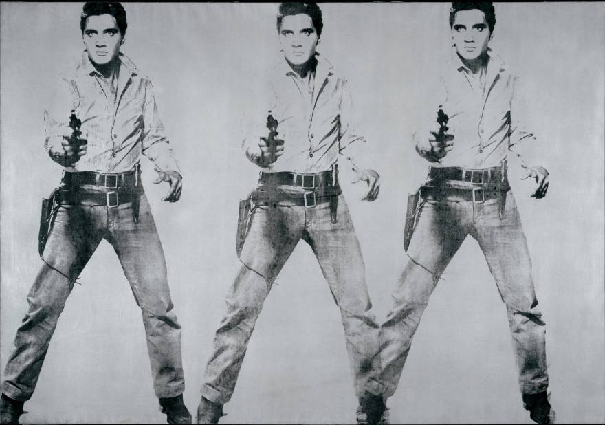 Elvis Presley by Andy Warhol