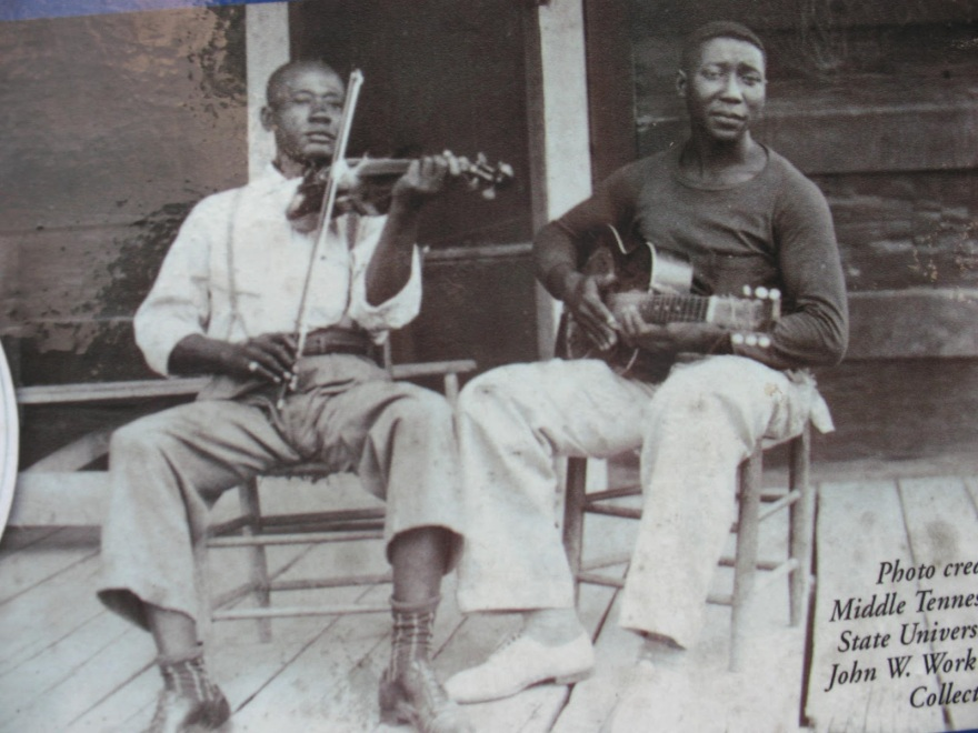 Young Muddy Waters in Mississippi