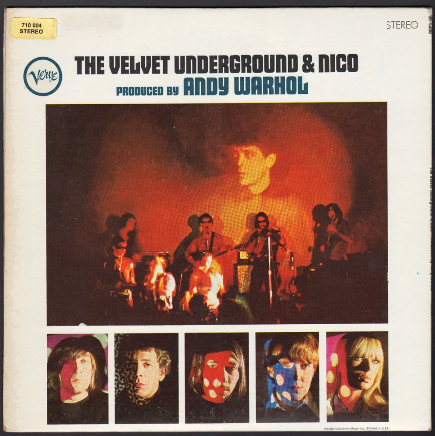 The Velvet Underground & Nico Original Back Cover
